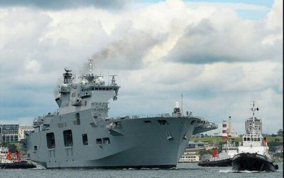 Charlotte responds to reports of the selling off of HMS Ocean