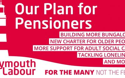 Charlotte pushes for pensioners to be at heart of Plymouth Labour local election manifesto