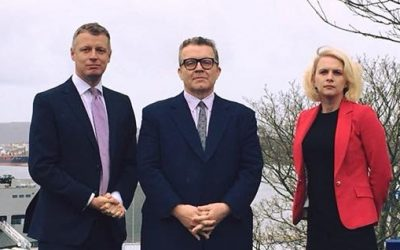 Charlotte welcomes Deputy Leader of Labour Party Tom Watson MP to Plymouth Moor View constituency