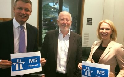 Charlotte secures Shadow Transport Secretary's support for study to extend M5 to Plymouth