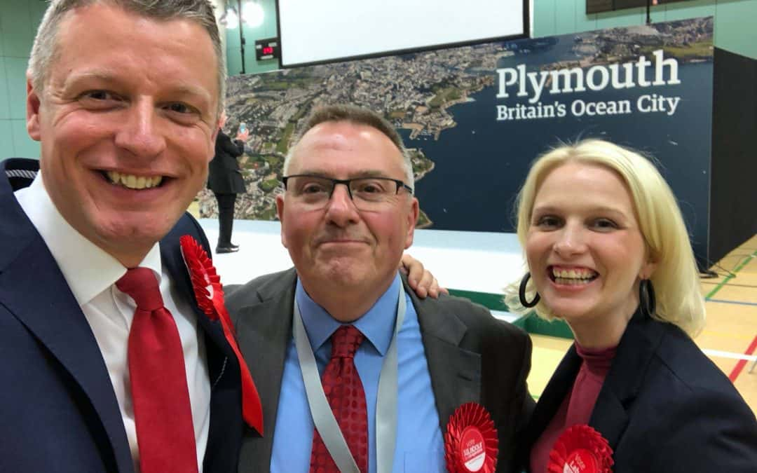 Charlotte celebrates Plymouth Labour victory in local elections
