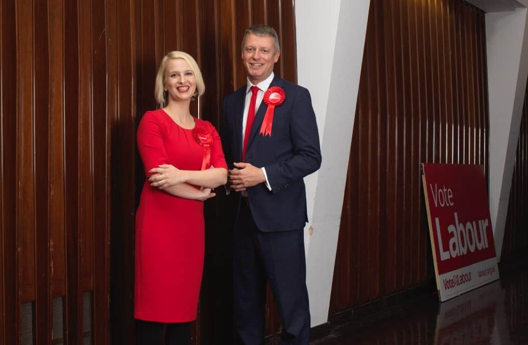 Charlotte and Luke reveal five Plymouth tests for Labour Leader